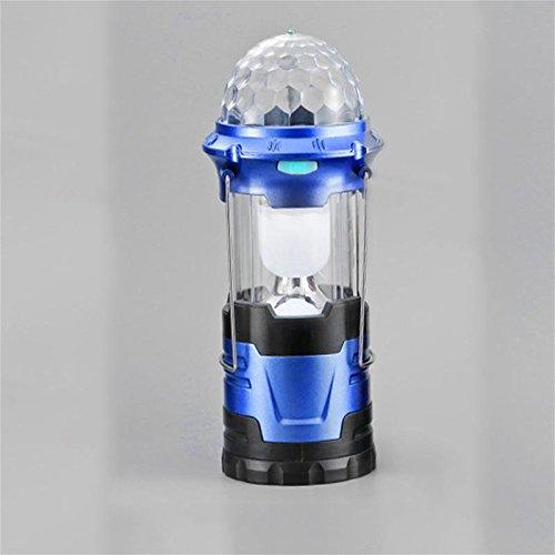 CHENGREN Luces de Camping LED Luces de Carga de Luces Caballos Luces de de Emergencia al Aire Libre de Emergencia Luces de Campamento Tiendas de campaña, Azul f8862a