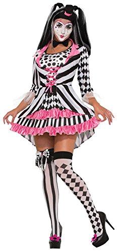 Forum Novelties Harlequin Clown Ring Mistress