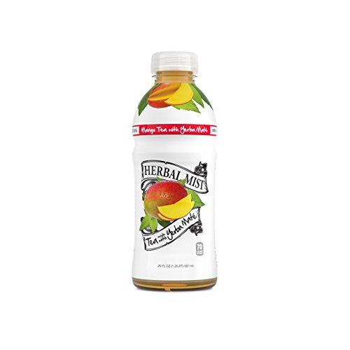 Herbal Mist 100% Natural Mango Iced Tea with Yerba Mate