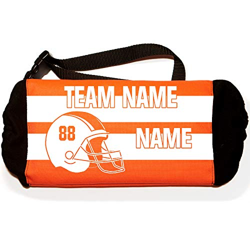 Sportwaves Custom Football Hand Warmer for Quarter Back, Players and boosters (Orange)