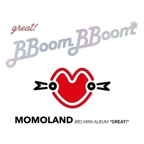 Momoland - [Great!] 3rd Mini Album CD+Booklet+2p PhotoCard K-POP Sealed