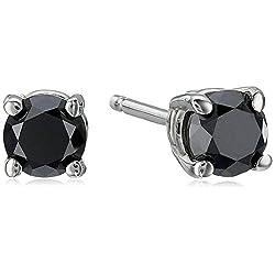 1 2 CT Black Diamond Stud...