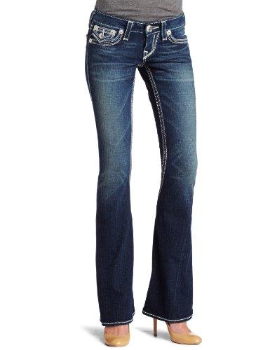 (True Religion Women's Joey Natural Big Qt Jean, Revolver)