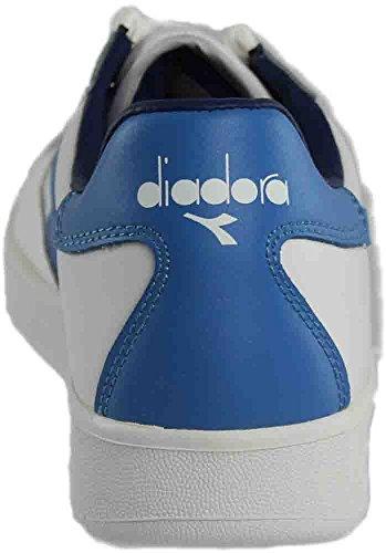 Diadora Unisex B. Elite Bianco / Campanula / Estate Blu
