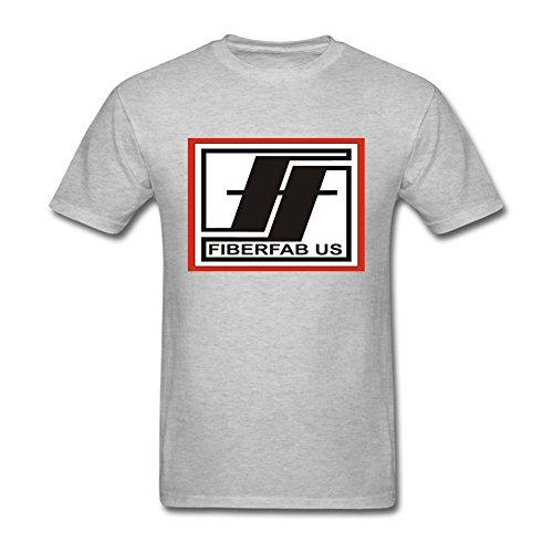 Reder Men's Fiberfab Us T-Shirt S Grey ()