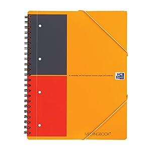 Oxford Meetingbook International - Cuaderno, A rayas , A4, 80 hojas