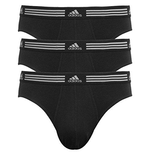 Adidas Mens Plush (adidas Men's Athletic Stretch 3-Pack Brief Black/Black MD)