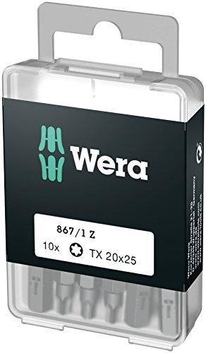 Wera 05072408001 TORX-Bits DIY-Box 867/1 Z TX 20 DIY