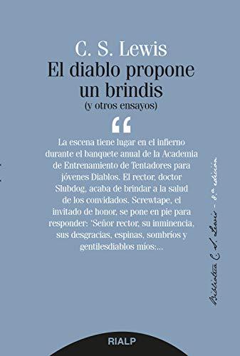 El diablo propone un brindis (Bibilioteca CS Lewis) (Spanish Edition)