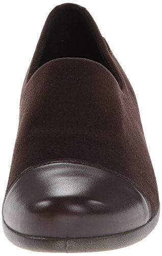 ECCO Womens Abelone GTX Slip-On Flat Coffee qsN2NlkX