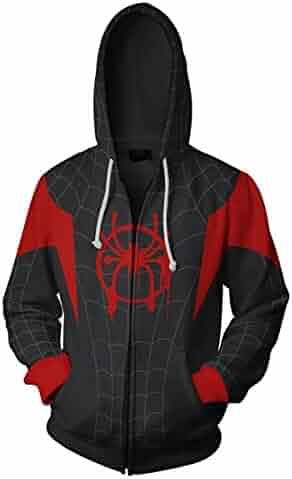 CHOICE99 Boys Spiderman Kids Hoodie Children Hoodies Youth Sweatshirts Spiderman Costume Cosplay 3D Pullover