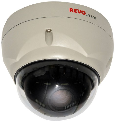 REVDPTZ22-3 Professional 700TVL 22X Zoom PTZ Dome Surveillance Camera (White)