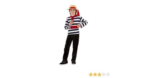Disfraz de Veneciano para niños en varias tallas: Amazon.es ...