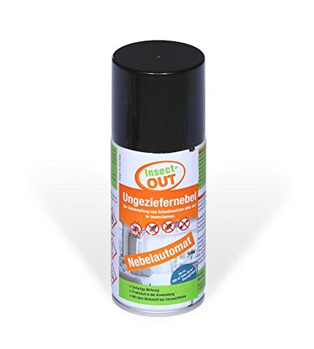 Insect-OUT® Ungeziefernebel 150 ml - Mit dem Wirkstoff der Chrysanthemenblume Insect-OUT®