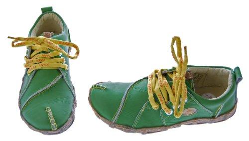 TMA à lacets femme ville Vert Vert pour Chaussures de OUxwBOqr