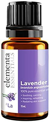 Lavender Essential Oil - 100% Pure Therapeutic Grade 15ml (Comparable to DoTerra and Young Living) For Rest Personal Care and Household Use