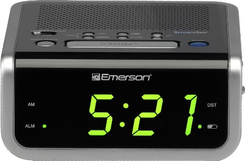 emerson smartset alarm clock radio cks1702 in the uae see prices reviews and buy in dubai. Black Bedroom Furniture Sets. Home Design Ideas