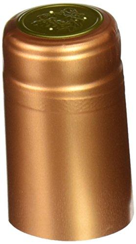1 X Bronze PVC Shrink Capsules- 30 Per Bag