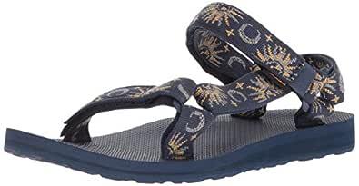 Teva Original Universal, Womens Shoes, Blue (Sun/Moon INSIG B), 5 US