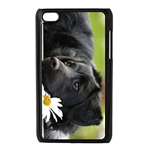 LZHCASE Diy Phone Case Cute Dog For Ipod Touch 4 [Pattern-1]