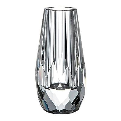 Donoucls Mini Bud Vase Hand Cut Crystal Flower Vases Clea
