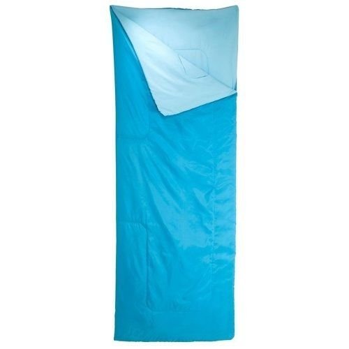 Decathlon Quechua Lightweight Colorful 20-Degree Basic Sleeping Bag,Light Blue