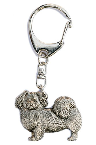 Tibetan Spaniel Made in U.K Artistic Style Dog Key Ring Collection
