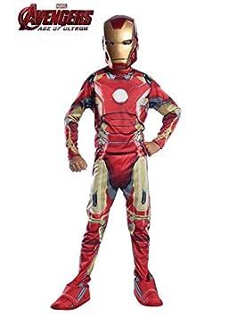 DISBACANAL Disfraz Iron Man Infantil Los Vengadores - -, 8-10 años ...
