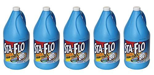 Purex Sta-Flo Liquid Starch, 64 Ounce (Pack of 5) by Purex