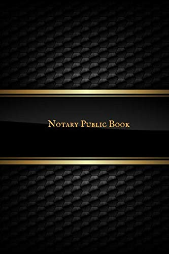 (Notary Public Book: Portable Official Notary Journal  Public Notary Records Book Notarial acts records events Log Notary Template  Notary Receipt Book)
