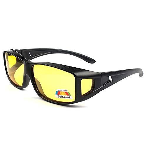 Night Driving Glasses Anti Glare Polarized Night Vision Glasses for Driving for Women Men