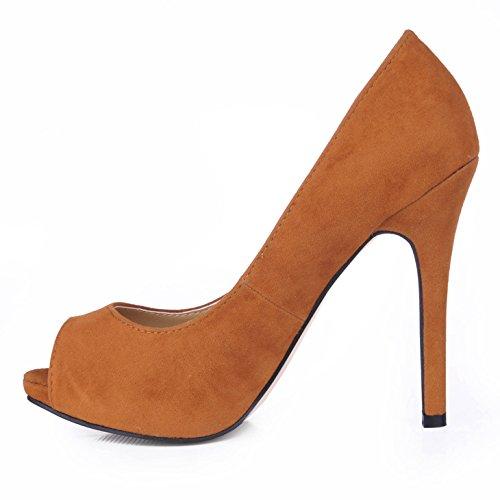 Pescado Grandes Shoes Red Una En Temperamento Y Discotecas Las Alta Heel Mujeres Negro Tierra Haga Wine Roja Punta De Caen Clic Rojo Satinado xRqpnUC