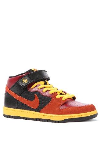 - Nike Skateboarding Men's The Dunk Mid Pro 8 Red