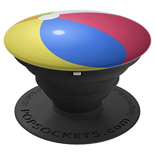 - Beach Ball Gift Phone Accessory Boardwalk BBQ Party Pool - PopSockets Grip and Stand for Phones and Tablets
