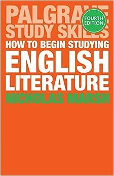 Mejor Torrent Descargar How To Begin Studying English Literature Formato PDF Kindle