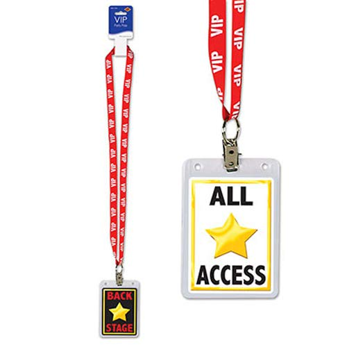 VIP Party Pass Party Accessory (1 count) (1/Pkg) for $<!--$1.99-->