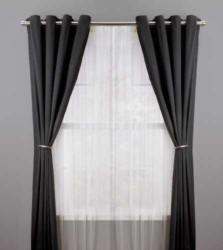 draperies set hook of dp decorative curtain amazon bronze window holdbacks com metal