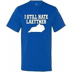 Kentucky Fan I Still Hate Laettner Funny Anti-Duke Riavlry Men's T-Shirt - Royal (Large)