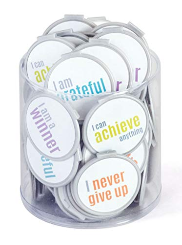 Motivational Bookmarks Clip Over The Page Bookmarks - 75 Pack - Bulk Bookmarks for Kids Girls Boys. Perfect Student Incentives Prizes Party Favors Classroom Rewards & Reading Awards!