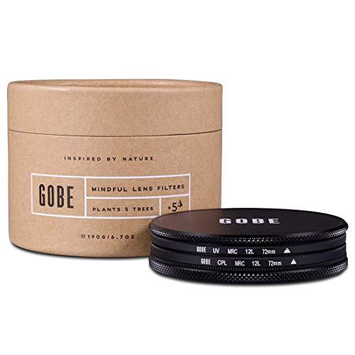 Gobe Filter Kit 72mm MRC 12-Layer: UV + CPL Polarizer