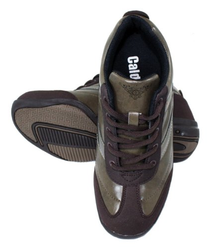 Increasing Brown CALDEN Inches Sneakers K9932 Taller Height Shoes Women 8 2 xPqw6Y