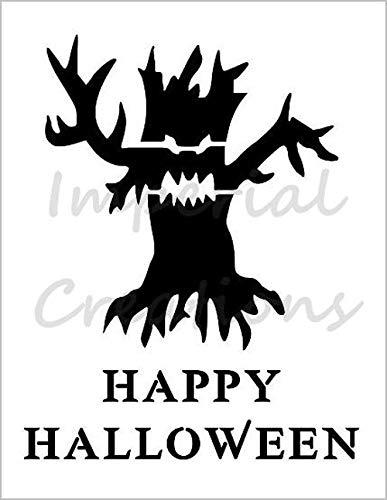 SCARY TREE Haunted Dead Halloween 8.5