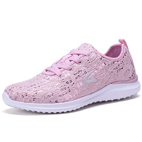 Pink Tennis Shoe - 5