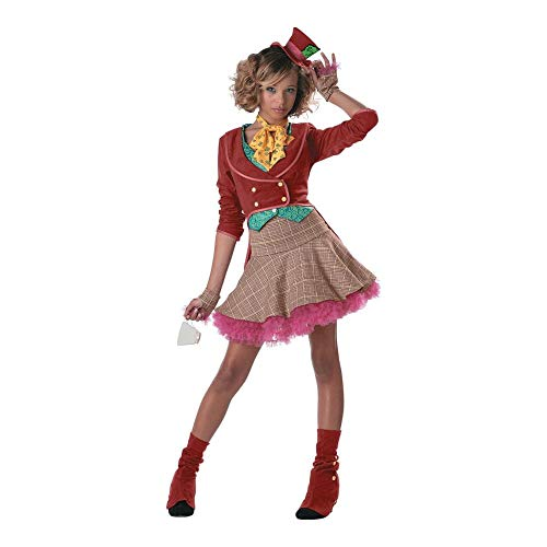 The Mad Hatter Teen/Junior Costume - Teen Large -