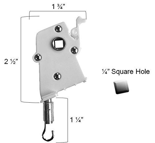 Tilt Control - 2 Pack Wand Tilt Control Horizontal Blind Parts Wand Tilter Large, High Profile