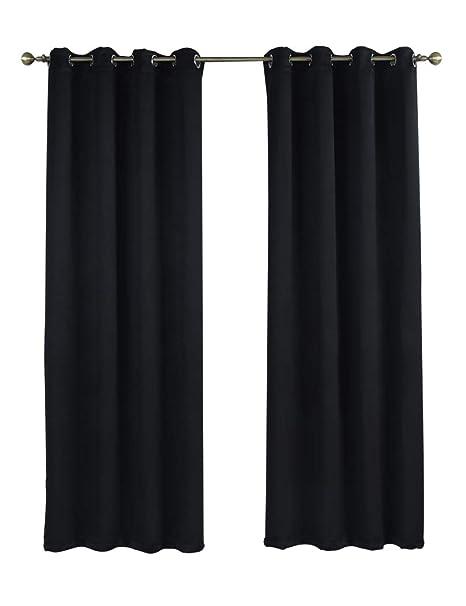 Amazoncom Rama Rose Blackout Curtains Room Darkening Thermal