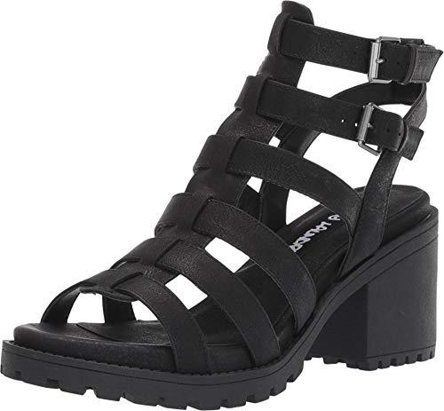 Dirty Laundry Womens Fun Stuff Sandals, Black, 6.5
