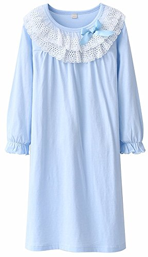 Childrens Blue Nightgown - 1