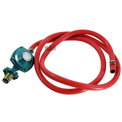 """Hose & Regulator Low Pressure 71""""/1.8m Burner Set for Gas Grill & Propane Grills (Hose Regulator Set)"""