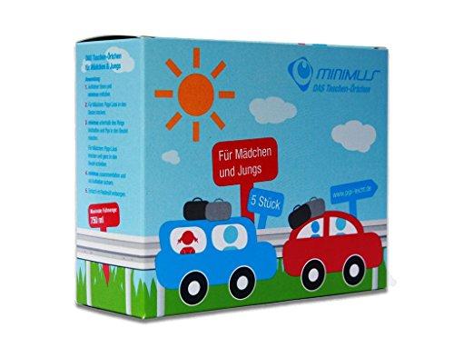 minimus - das Taschen-Örtchen, Das mobile Einweg-WC,Wegwerf Urinal Camping WC